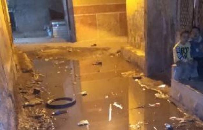 القابضة لمياه الشرب والصرف تستجيب لشكوى أهالي شارع صلاح فى الوراق بالجيزة