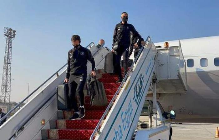 بعد وصول بعثة بيراميدز إلى القاهرة.. راحة 48 ساعة   صور