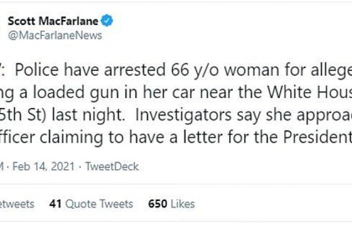 القبض على زوجين يشتبه أنهما خططا لاغتيال بايدن