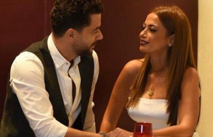 شاهد.. داليا مصطفى وشريف سلامة يحتفلان بـ الفلانتين على طريقتهما الخاصة