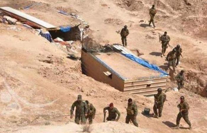 غارات للطيران العراقي على مواقع لإرهابيين في سلسلة جبال حمرين