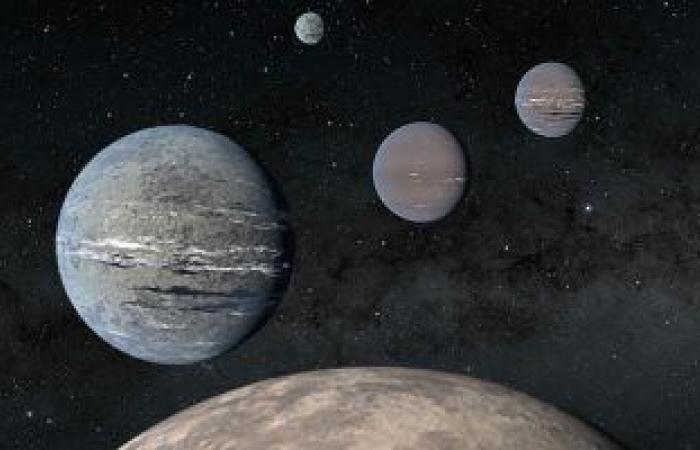 اكتشاف بقايا كواكب مشابهة للأرض والمريخ بأقدم أجسام فى المجرة