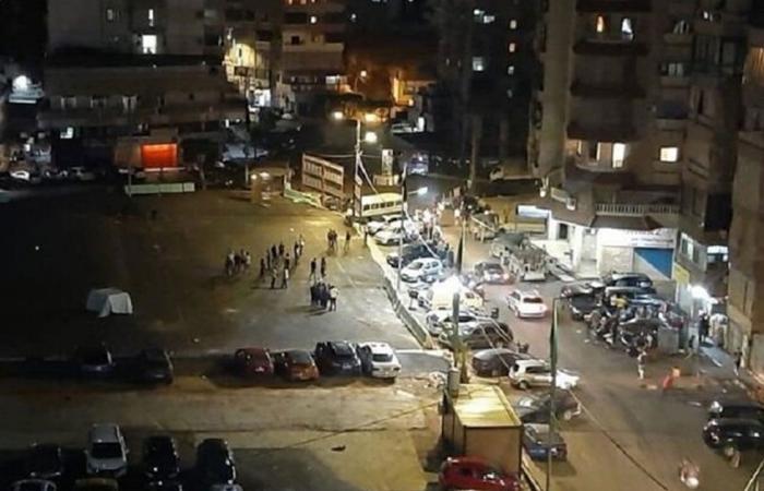 بالفيديو.. قتيل و4 جرحى في اشتباكات ليلية بالقذائف في بيروت الجنوبية