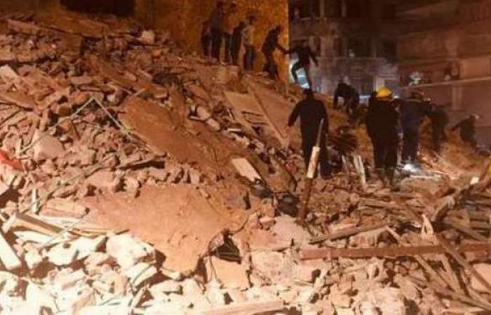 التحقيقات في انهيار عقار روض الفرج: المنزل صادر له قرار تنكيس منذ 33 سنة