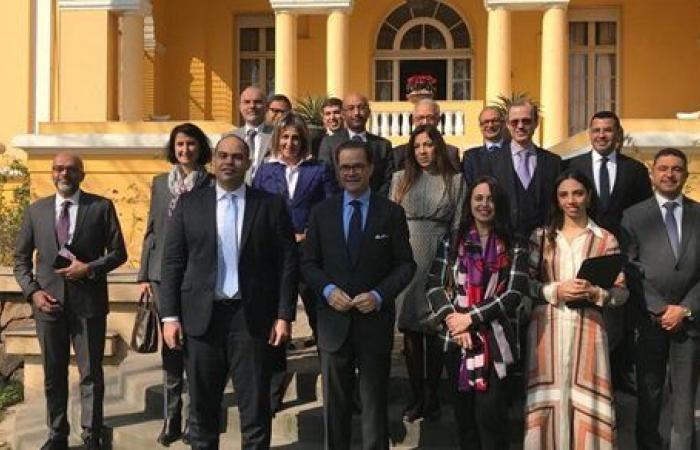 رئيس جهاز حماية المنافسة يلتقي سفير فرنسا وممثلي كبرى الشركات الفرنسية بمصر