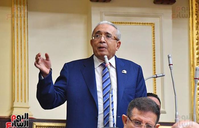 بدء الجلسة العامة لمجلس النواب لاستكمال مناقشة لائحة الشيوخ.. صور