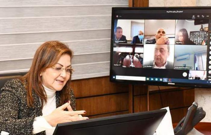 وزيرة التخطيط تبحث آليات التمكين الاقتصادي في القرى