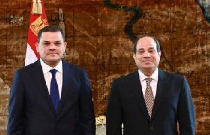 رئيس وزراء ليبيا: نتطلع لعلاقة استراتيجية مع مصر والاستفادة من خبراتها