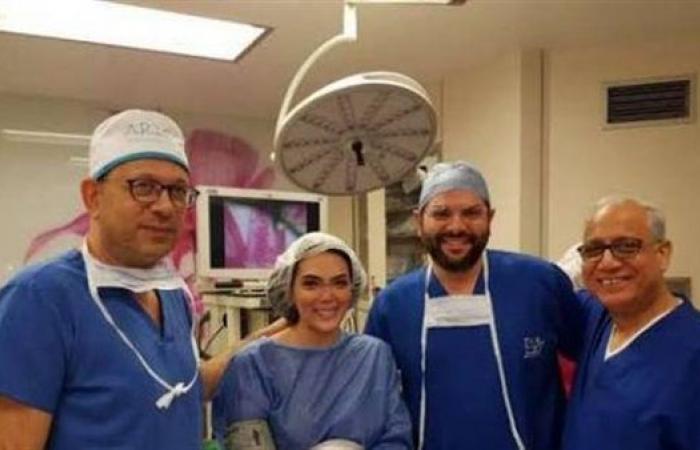 """حورية فرغلي تتصدر """"تويتر"""" بتسجيل صوتي من المستشفى"""