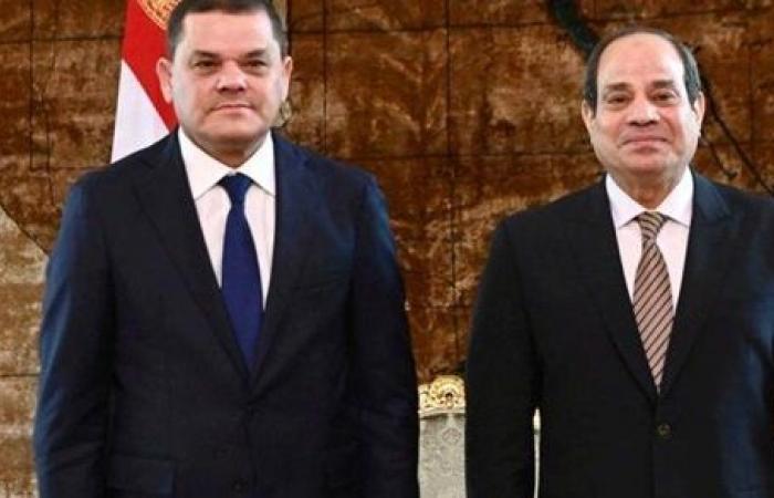 رئيس الحكومة الليبية: ليبيا حكومةً وشعبًا تتطلع إلى إقامة شراكة شاملة مع مصر