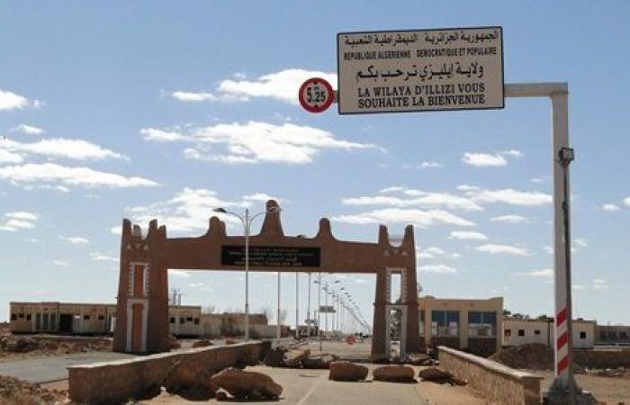 الجزائر تفتح معبر الدبداب الحدودي مع ليبيا