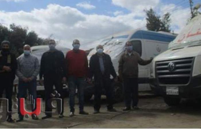 قافلة طبية تفحص 1187 مواطنًا مجانًا في بني سويف