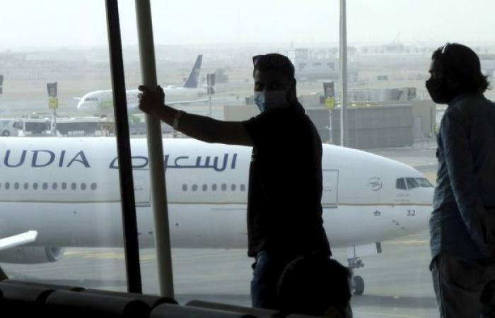 طائرة يمنية تغير مسارها إلى مطار جدة