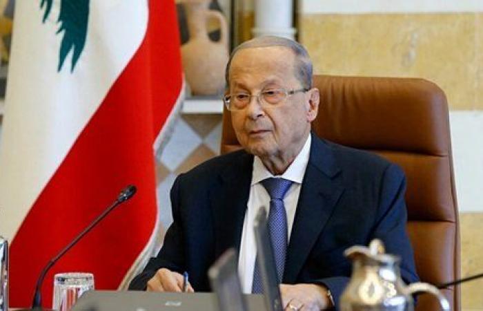 رئيس لبنان يتسلم رسالة من نظيره الصيني.. تفاصيل