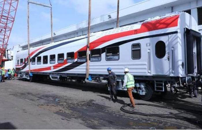 ميناء الإسكندرية يستعد لاستقبال دفعة جديدة من عربات السكك الحديدية
