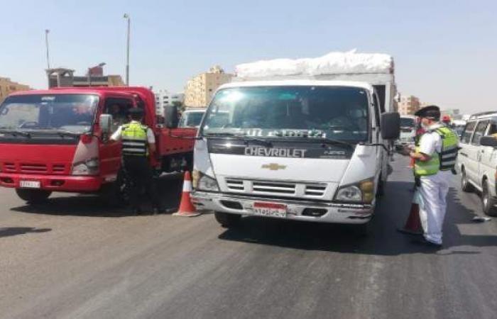 ضبط 12567 شخصا لعدم الالتزام بارتداء الكمامات و560 مخالفة لقرارات الغلق