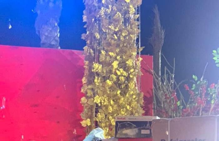 مدير مؤسسة بنحبك يا مصر تساهم في تجهيز 160 عروس بحضور نجوم المتجمع.. صور