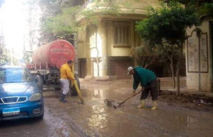 رفع آثار وتجمعات الأمطار لليوم الرابع بالدقهلية | صور