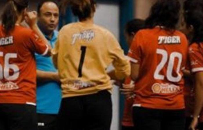 سيدات يد الأهلي يفوز على الجزيرة في بطولة الدوري