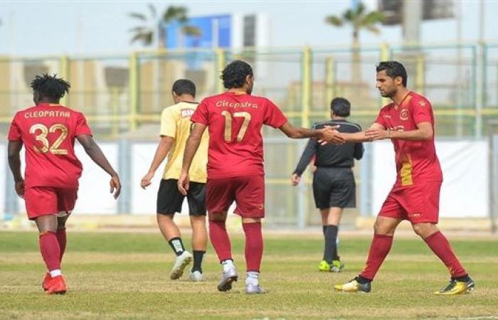 قائمة سيراميكا كليوباترا لمواجهة غزل المحلة في كأس مصر