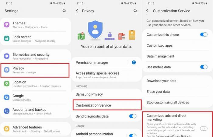 3 طرق لإيقاف ظهور الإعلانات في هاتف سامسونج