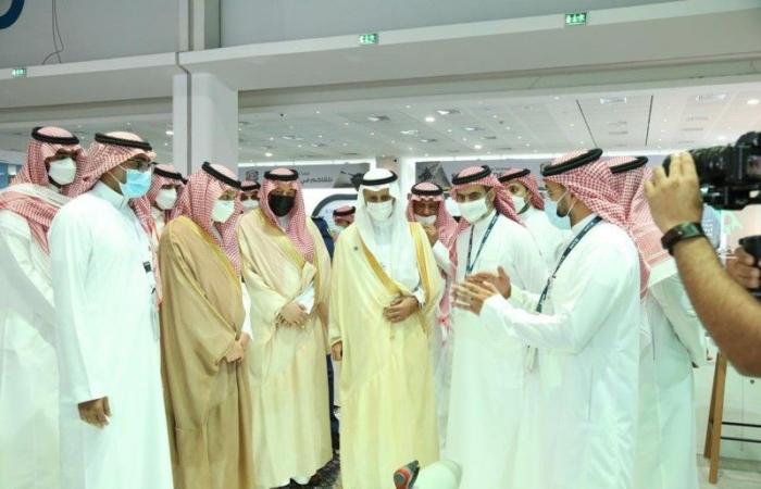 السعودية تفتتح جناحها في «أيدكس 2021» بمشاركة 12 شركة وطنية