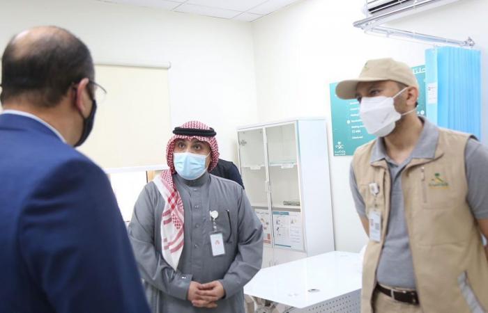 بالصور.. افتتاح 4 مقار جديدة في مكة لمنح لقاح كورونا