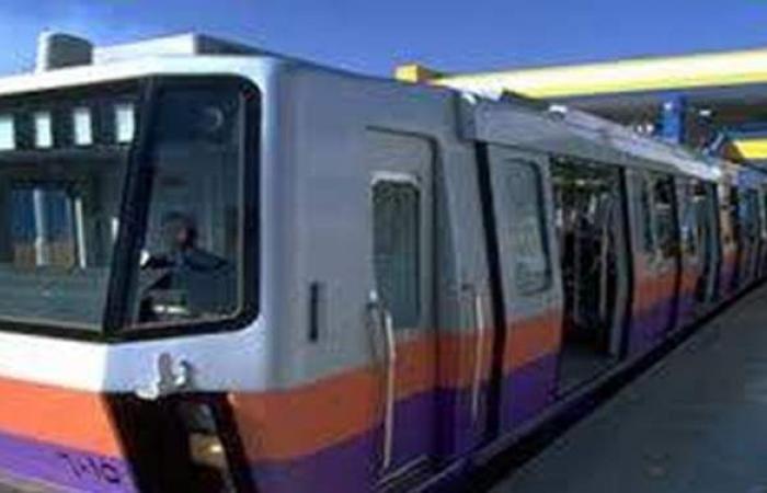 مترو الأنفاق ينقل 700 ألف راكب على الخطوط الثلاثة اليوم