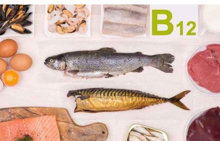 أعراض نقص فيتامين B12 وطرق تعويضه بالغذاء