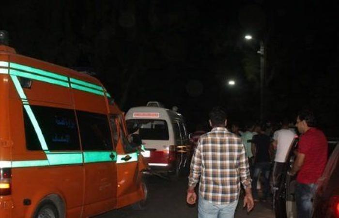 إصابة شخص سقط من قطار الإسماعيلية - الزقازيق