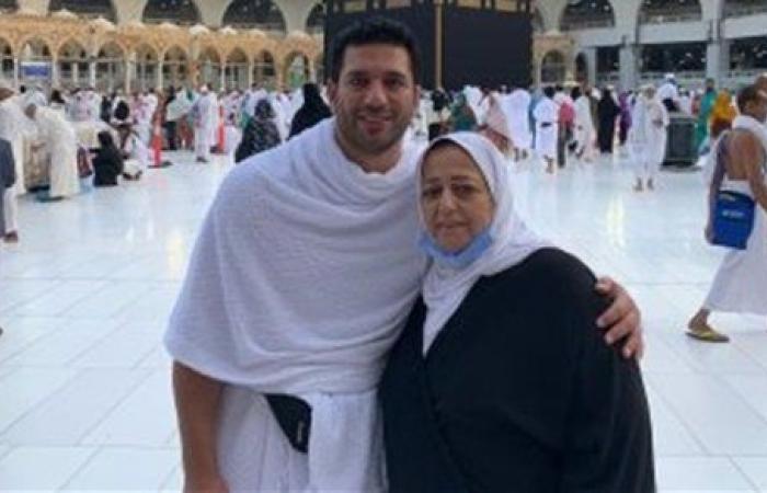 بحبك يا أمي.. حسن الرداد يتذكر والدته بكلمات مؤثرة