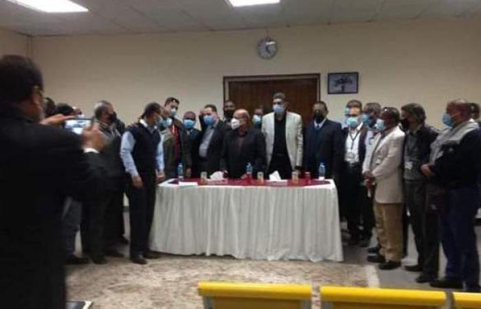 رئيس مصر للطيران للخدمات يتفقد اعمال تطوير محطة أسوان