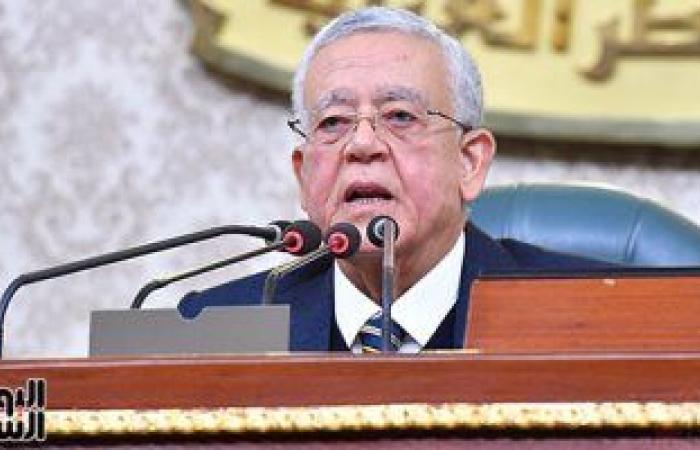 رئيس النواب: الدول العربية تشهد تحديات تهدد أمنها ونتطلع لإحياء عملية السلام