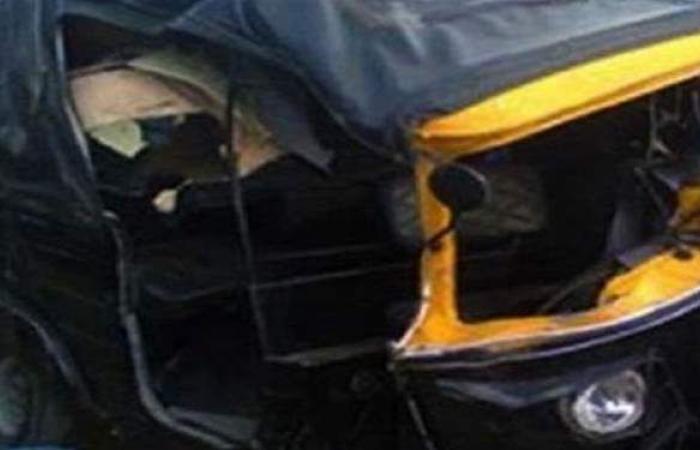كان معاكس.. تفاصيل مصرع سائق توك توك صدمته سيارة في الدقهلية