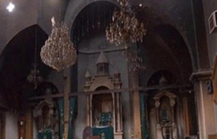 """3 أبريل .. أولى جلسات إعادة إجراءات محاكمة متهم بـ """"حرق كنيسة كفر حكيم"""""""