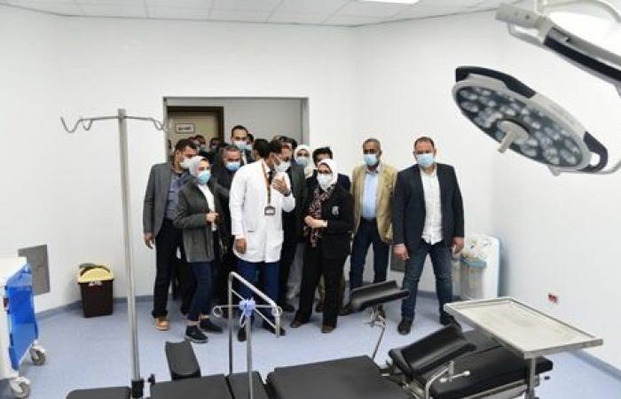 وزيرة الصحة تتفقد إيزيس التخصصي.. أول مستشفى متخصص في النساء والولادة لخدمة جنوب الصعيد
