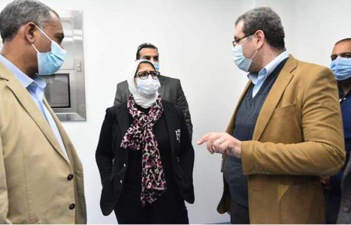 الصحة: 320 مليون جنيه تكلفة المبنى الجديد بمستشفى الكرنك الدولي