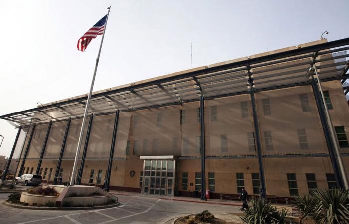 3 صواريخ كاتيوشا تستهدف السفارة الأمريكية في المنطقة الخضراء ببغداد