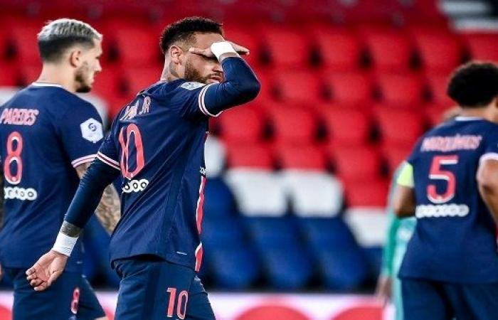 لعنة الفوز على برشلونة تطارد باريس سان جيرمان في الدوري الفرنسي