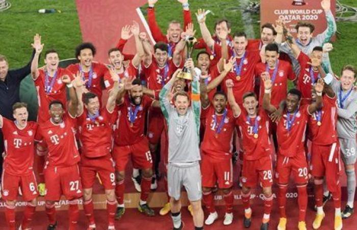 قائمة بايرن ميونخ أمام لاتسيو في دوري أبطال أوروبا