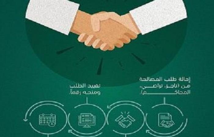 وزارة العدل تحدد إجراءات الصلح في النزاعات التجارية