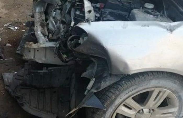 إصابة 4 أشخاص في حادث تصادم بالمنوفية.. صور