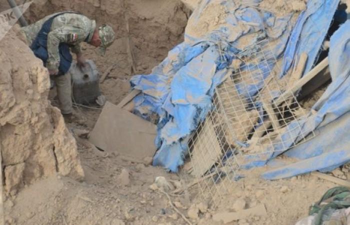 القوات العراقية تلقي القبض على مطلوبين وتضبط كميات من السلاح... صور