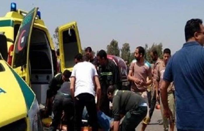 إصابة 7 أشخاص فى حادث تصادم بالشرقية