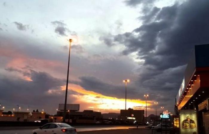 أمطار رعدية على نجران حتى السابعة