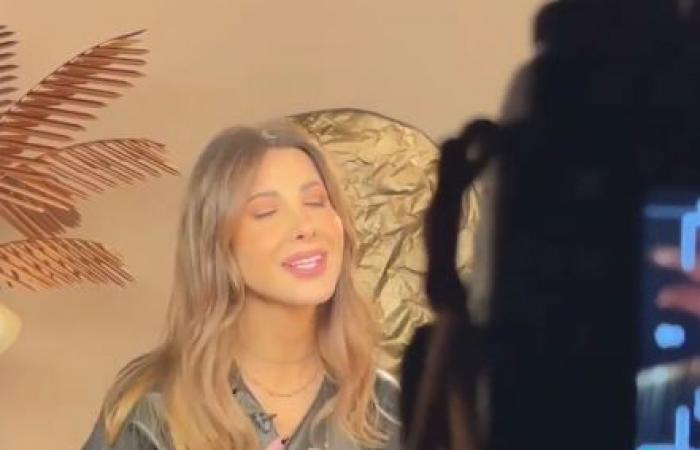 نانسى عجرم تشوق الجمهور لأغنية جديدة بفيديو صامت قبل طرحها
