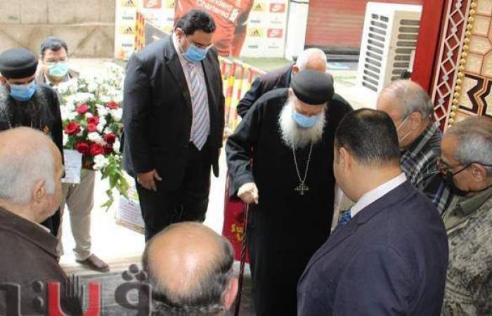وفد قبطي يشارك في افتتاح مسجد بالغربية | صور