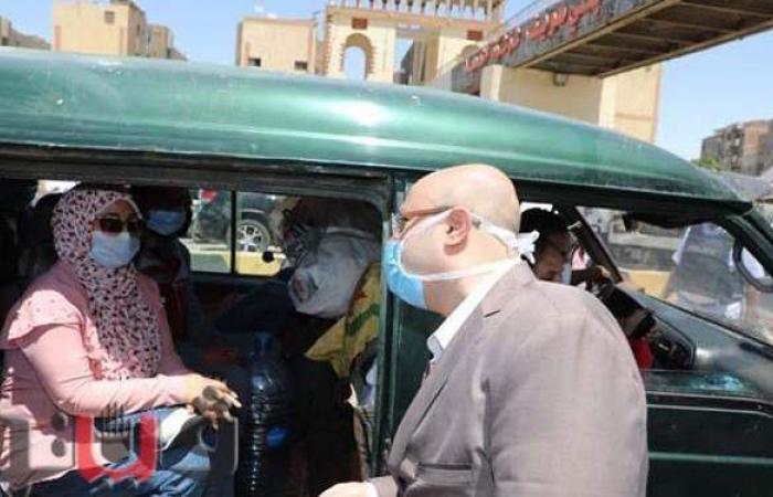 لمواجهة كورونا.. إغلاق 13 محلا وتحرير 125 محضرا لعدم ارتداء الكمامة ببني سويف