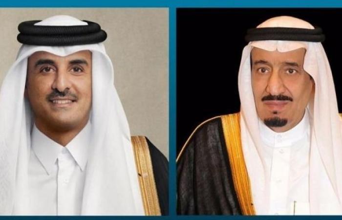 القيادة القطرية تهنئ الملك سلمان بنجاح العملية التي أجراها ولي العهد