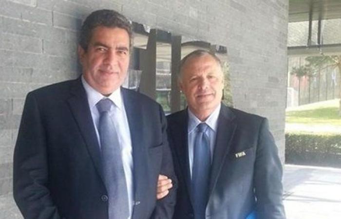 أحمد مجاهد يدعم أبوريدة في المغرب استعدادا لانتخابات الفيفا والكاف